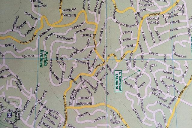 mapa catastro
