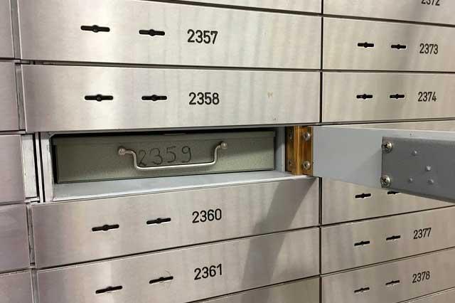 caja fuerte banco
