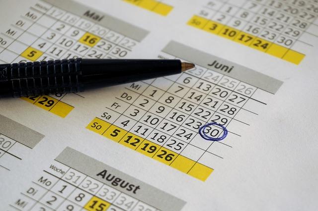 calendario gastos